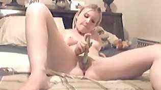 Meine geile Ex – Sie macht es sich vor der Webcam
